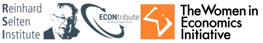 Women in Economics Discussion Series – Cologne Edition I