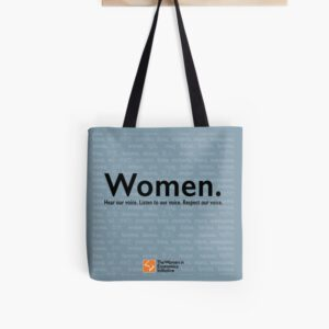 'Voices in Blue' Tote Bag