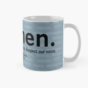 'Voices in Blue' Mug