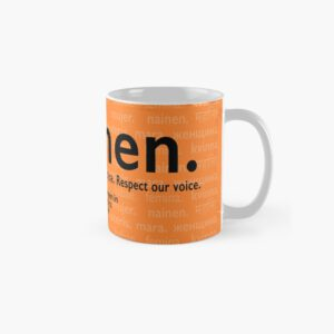 'Voices in Orange' Classic Mug