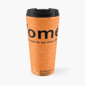 'Voices in Orange' Travel Mug