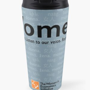 'Voices in Blue' Travel Mug