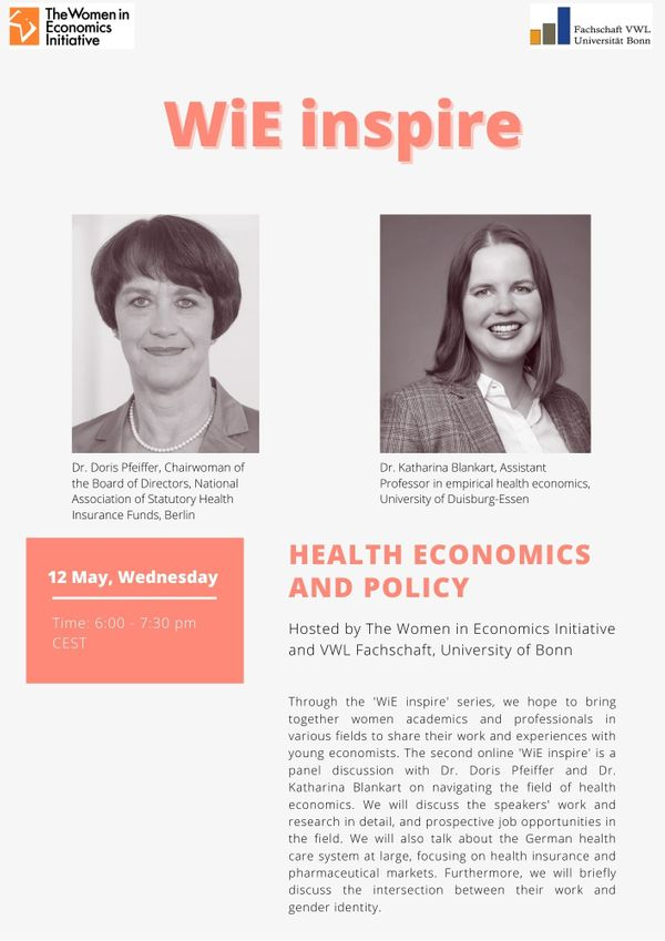 Health Economics and Policy – WiE Inspire